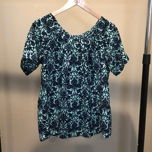 Gibson Clothing Tie-back Blouse